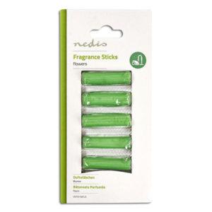 Αρωματικά sticks για ηλεκτρικές σκούπες, με άρωμα λουλουδιών. NEDIS VCFS110FLO
