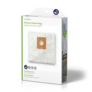 Υφασμάτινες σακούλες με μικροϊνες για Samsung VP77, 4τμχ. NEDIS DUBG220SAM4