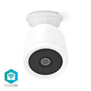 WiFi Smart IP κάμερα Full HD 1080p, με αδιάβροχο περίβλημα για εξωτερικούς χώρους. NEDIS WIFICO50CWT