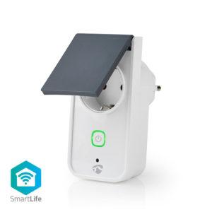 Wi-Fi Smart Plug εξωτερικού χώρου, 16Α, με μετρητή κατανάλωσης ενέργειας.NEDIS WIFIPO120FWT