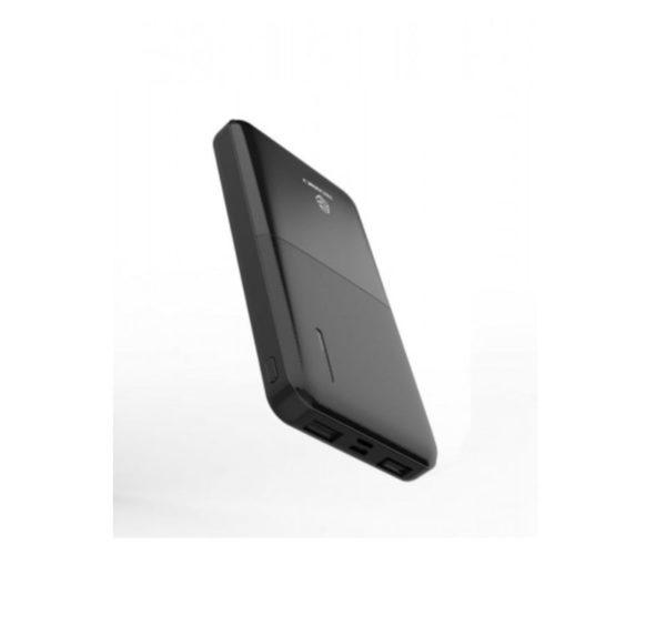 Powerbank 10000Mah 2A 2Usb Black Techancy TF36009