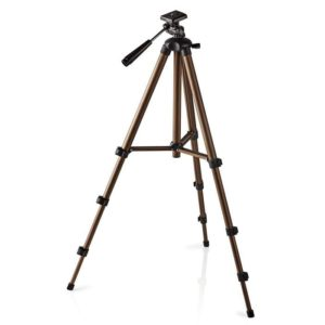 Τρίποδο Αλουμινίου Με Max Ύψος 128 cm Για Φωτογραφικές Μηχανές Και Βιντεοκάμερες. NEDIS TPOD2100BZ
