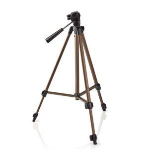 Τρίποδο Αλουμινίου Με Max Ύψος 127 cm Για Φωτογραφικές Μηχανές Και Βιντεοκάμερες. NEDIS TPOD3100BZ