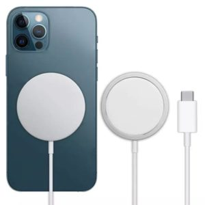 Wireless Charger MagSafe Λευκό OEM iMag