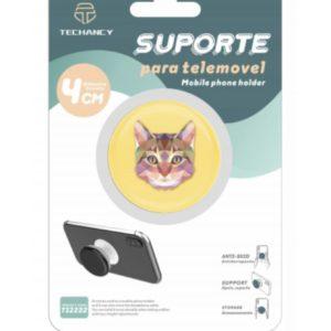 Popsocket Με Εικόνα Γάτα Techancy TF30105