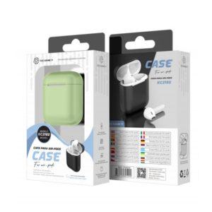 Silicone Cover For Airpod 1/2 Πράσινη Techancy TF69509