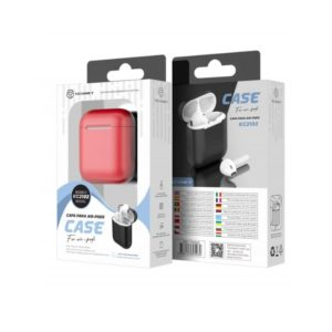 Silicone Cover For Airpod 1/2 Κόκκινη Techancy TF69506