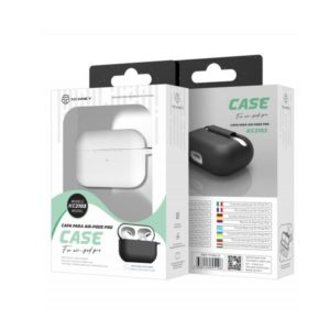 Silicone Cover For Apple AirPods Pro Λευκή Techancy TF69510