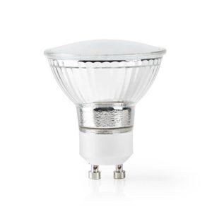 Wi-Fi έξυπνη λάμπα LED, GU10, 5W, 330lm. NEDIS WIFILW10CRGU10