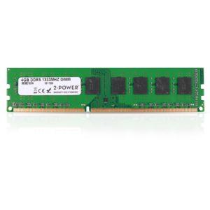 Μνήμη RAM DDR3 Dimm 4GB 1333MHz. 2-POWER MEM2103A 4GB DIMM DDR3