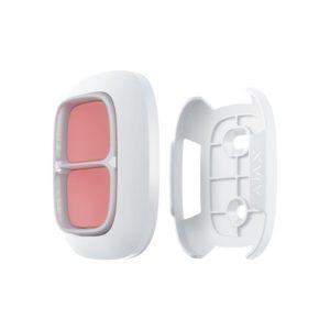 Bάση τοποθέτησης για Double Button και Βutton, σε λευκό χρώμα. Ajax Systems Holder Double Button White