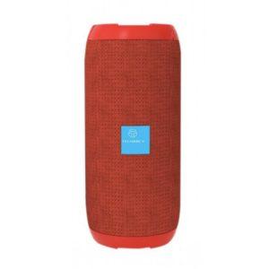 Ηχείο Bluetooth  και ραδιόφωνο 4Ω 10W (5w x 2) κόκκινο Techancy TF34011