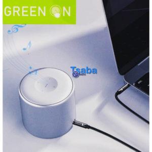 Καλώδιο Audio Jack 3.5mm Green On GR03 1m