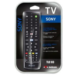 Τηλεχειριστήριο αντικατάστασης για τηλεοράσεις SONY. MELICONI TLC03