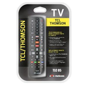 Τηλεχειριστήριο αντικατάστασης για τηλεοράσεις TCL/THOMSON. MELICONI TLC05