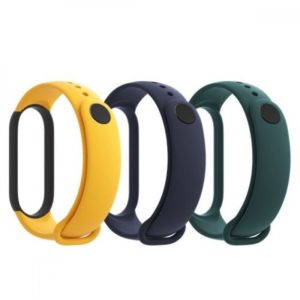 Xiaomi Mi Band 5 Strap (3-Pack) blue yellow green EU BHR4640GL