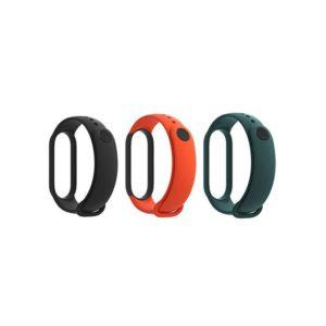 Xiaomi Mi Band 5 Strap (3-Pack) black orange green EU BHR4639GL