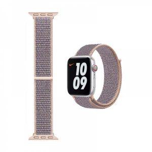 WiWU Apple Watchband 38 mm/40 mm, Nylon, Powder Sand
