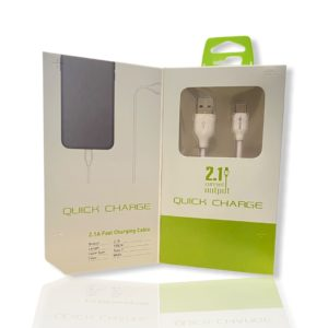 Καλώδιο Fast Charge USB C 1m Green On LS371