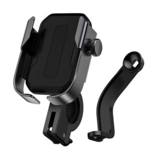 Baseus Motorcycle Armor phone holder (Applicable for bicycle) Black SUKJA-01