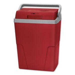Ηλεκτρικό φορητό ψυγείο 25L, 12V & 220-240V, σε κόκκινο χρώμα. KB 3713