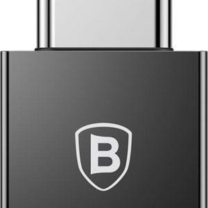 Αντάπτορας USB Σε Type-C Male Μαύρο Baseus CATJQ-B01
