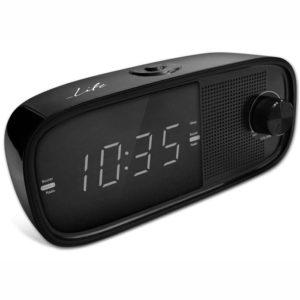 Ραδιόφωνο / Ρολόι / Ξυπνητήρι με οθόνη LED και ψηφία 0.9″. LIFE RAC-002