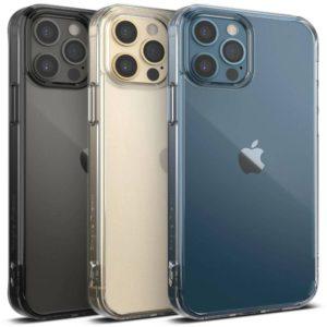 Θήκη Πλαστικό / Bumper Σιλικόνης Διάφανο για iPhone 12 Pro Max Ringke 10662