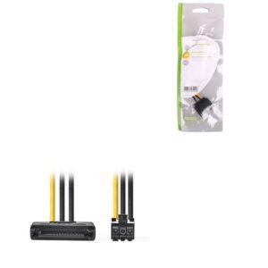 Καλώδιο-αντάπτορας τροφοδοσίας PCI Express θηλ. – SATA αρσ., 0.15m . CCGP74200VA015