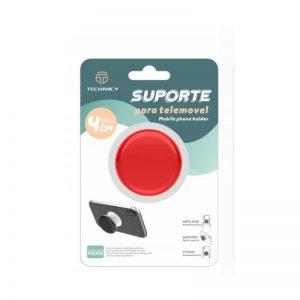 Pop Holder Με Χρώμα Κόκκινο  Techancy TF30116