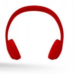 Bluetooth over-ear ακουστικά με μικρόφωνο, σε κόκκινο χρώμα Techancy TF40012