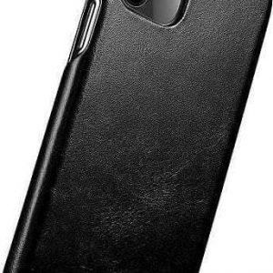 iCarer iPhone 11 Pro (5.8) Case Curved Edge Vintage Folio Black
