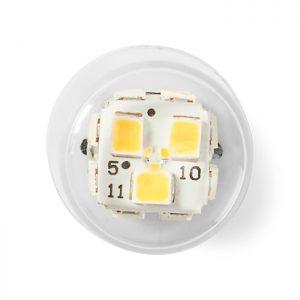 """Λαμπτήρας LED G9, 3.3W, με χρωματισμό """"Warm white"""", 15000 ωρών."""