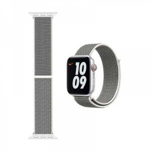 WiWU Apple Watchband 38 mm/40 mm, Nylon, Seashell