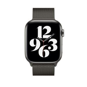 WiWU Apple Watchband 38 mm/40 mm, Minalo Stainless Steel, Black
