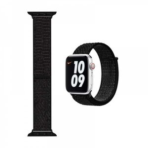 WiWU Apple Watchband 38 mm/40 mm, Nylon, Black