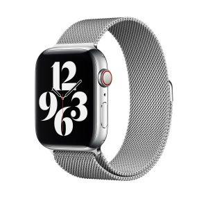 WiWU Apple Watchband 38 mm/40 mm, Minalo Stainless Steel, Silver