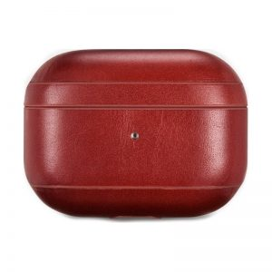 iCarer Apple Airpods Pro Case Vintage Leather Red